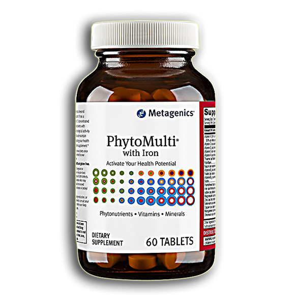 Metagenics - PhytoMulti w/ Iron 60 tabs