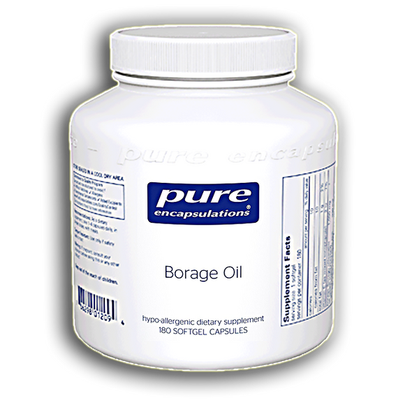 Pure Encapsulations - Borage Oil 180 gels