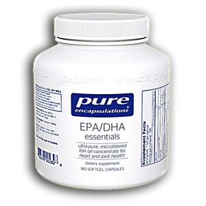 Pure Encapsulations - EPA/DHA Essentials 1000 mg 180 gels