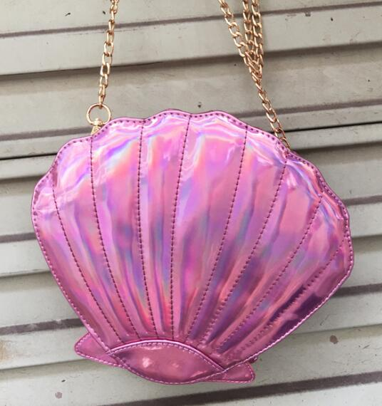 Mermaid Shell Crossbody Handbag