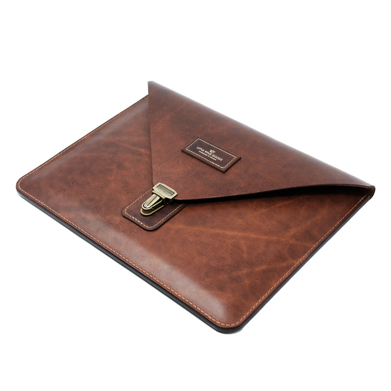 The E1 - 3RD Gen iPad Pro Case - Saddle Tan