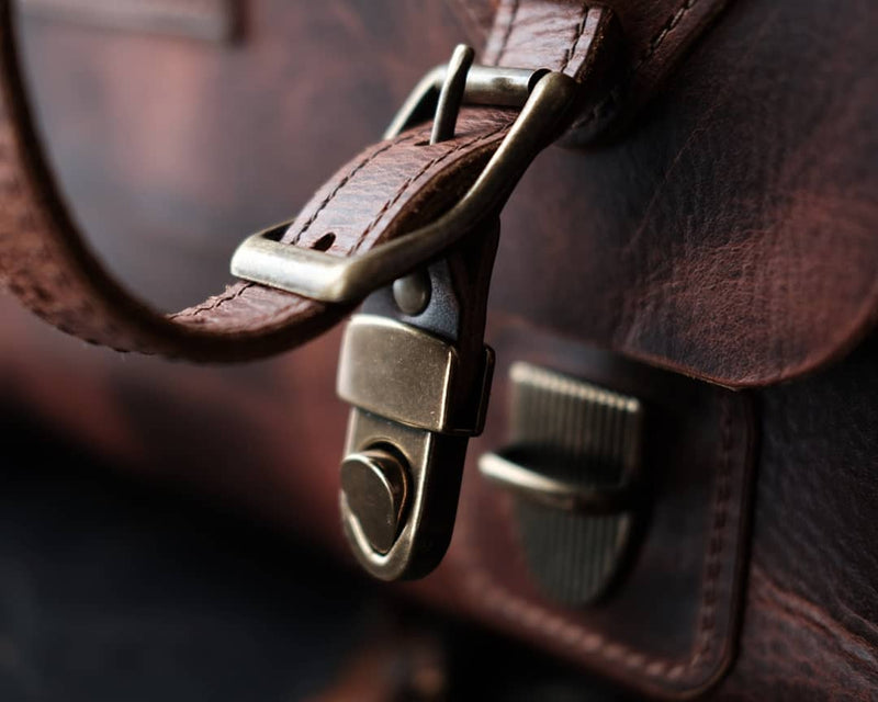 The Uncharted Satchel - Rugged Tan