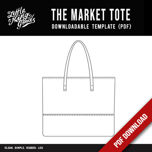 LKG - The Market Tote (Downloadable PDF)