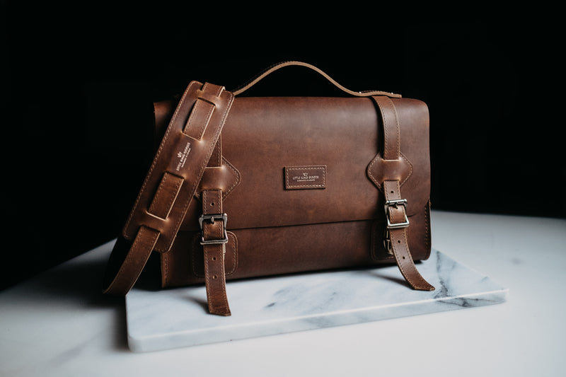 Limited Edition Uncharted Satchel - English Tan
