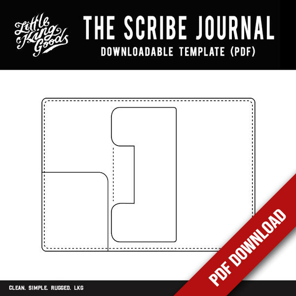 The Scribe Journal Template (Downloadable PDF)