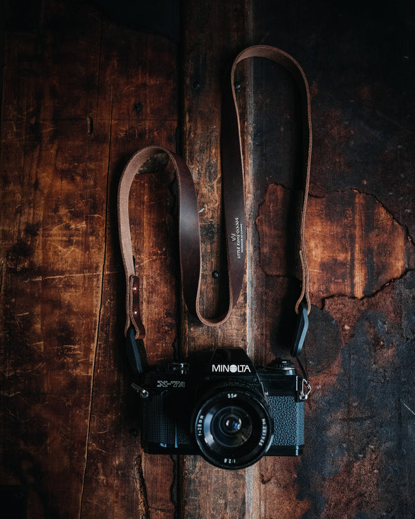 LKG - CAMERA STRAP (RUGGED TAN)