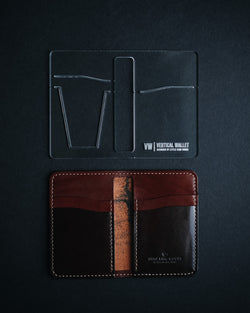 Vertical Wallet - (Acrylic Template)