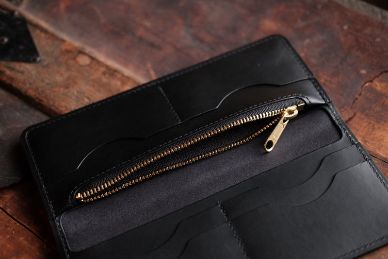 THE LONG WALLET - BLACK