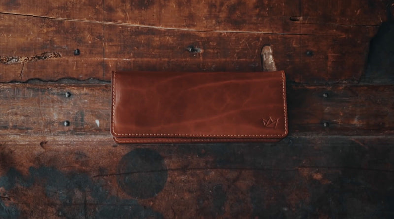 THE LONG WALLET - OLIVE & BUCK BROWN