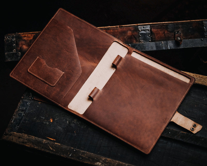 Legal Padfolio - Rugged Tan