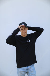 SDG X Logo Long Sleeve (BLK)