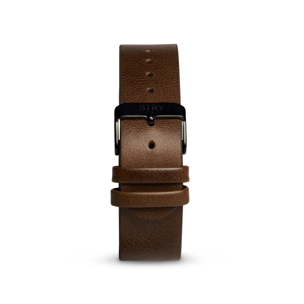 Olive Green Leather Band - STRY Project