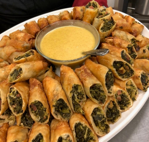 Collard Green Egg Rolls