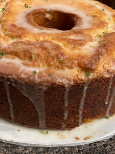 Key Lime pound cake - LOCAL