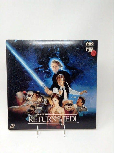 Japanese Laserdisc Star Wars Return of t - Tokyo Retro Gaming