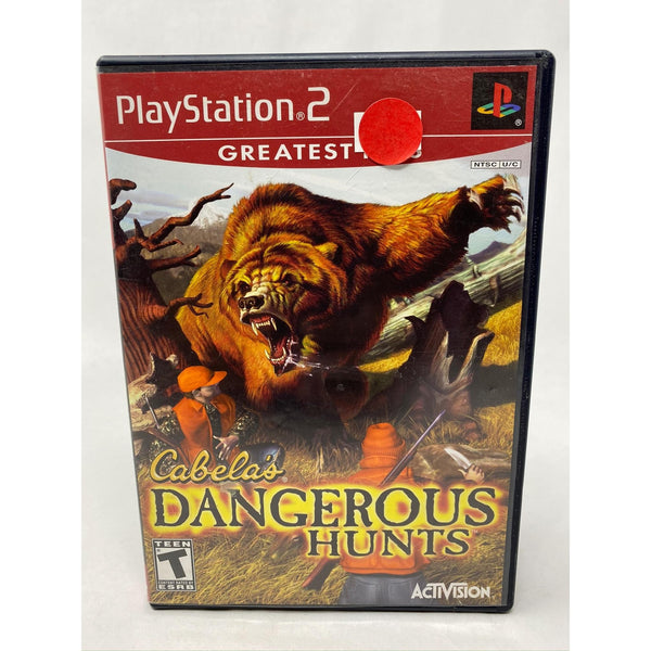 Cabela's Dangerous Hunts Playstation 2 - Tokyo Retro Gaming