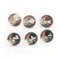 Attack on Titan Buttons Can Badge Japan - Tokyo Retro Gaming