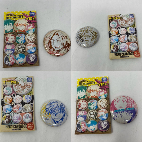 My Hero Academia Pin Button Badge Set - Tokyo Retro Gaming