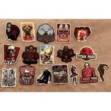 Attack on Titan Japan Anime Stickers - Tokyo Retro Gaming
