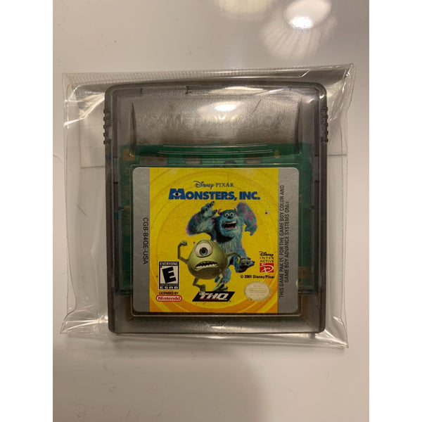Monsters Inc Gameboy Color Cartridge - Tokyo Retro Gaming