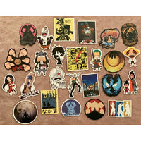 One Piece Japan Anime Stickers - Tokyo Retro Gaming