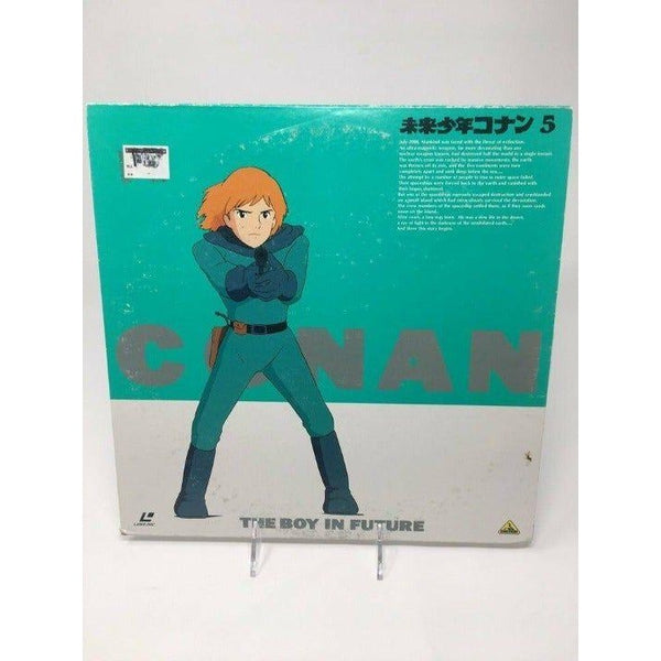 Japanese Anime Laserdisc Conan The boy in future 5 - Tokyo Retro Gaming