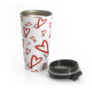Stainless Steel Travel Mug / no text