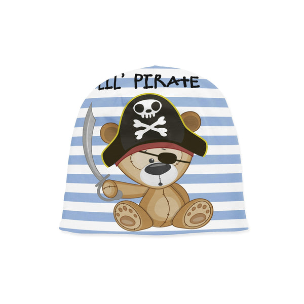 Pirate Bear Beanie Baby Hat