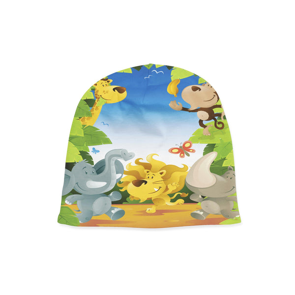 Safari Party Beanie Baby Hat