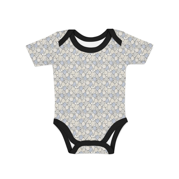 Small Balloons Baby Onesie