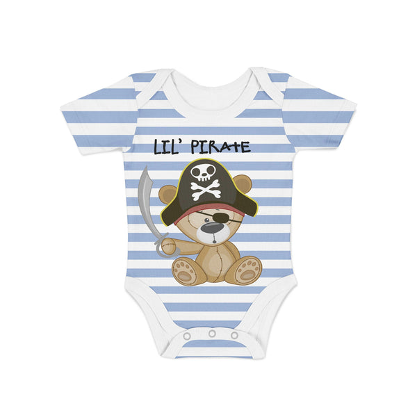 Pirate Bear Baby Onesie