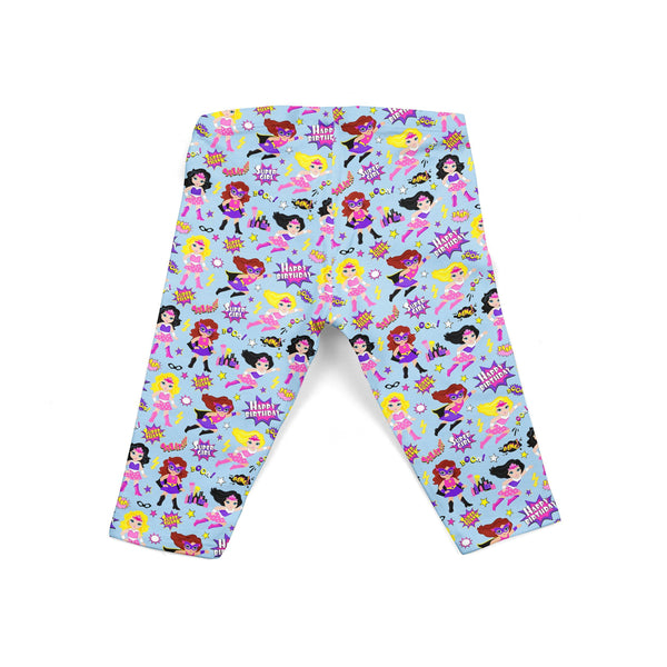 Girl Superhero Baby Legging