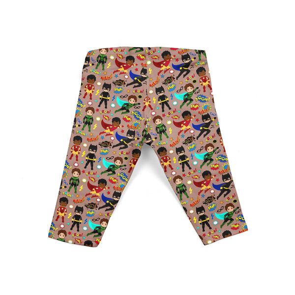 Boy Superhero Baby Legging
