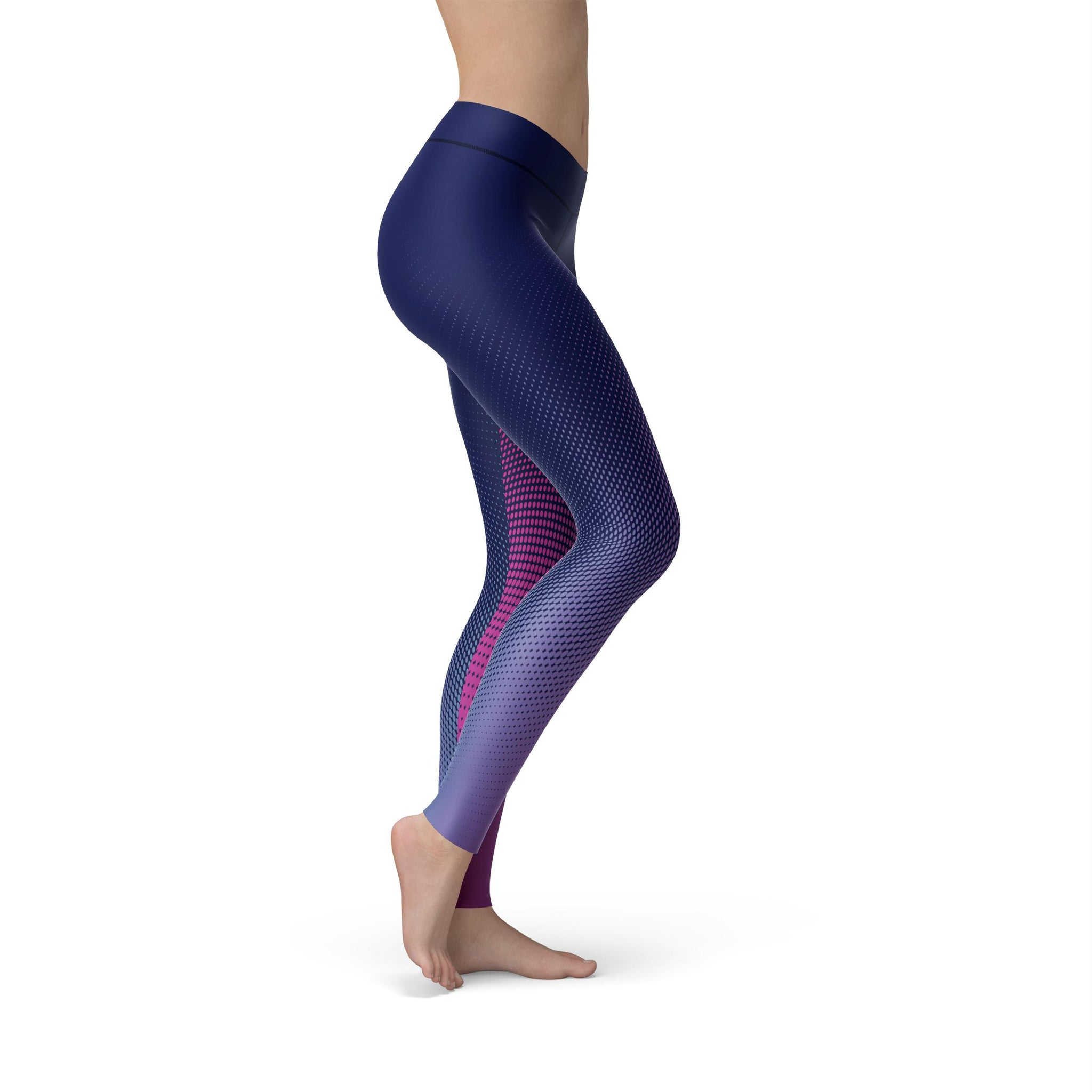 Gentle High-Waist Aura Fusion Legging