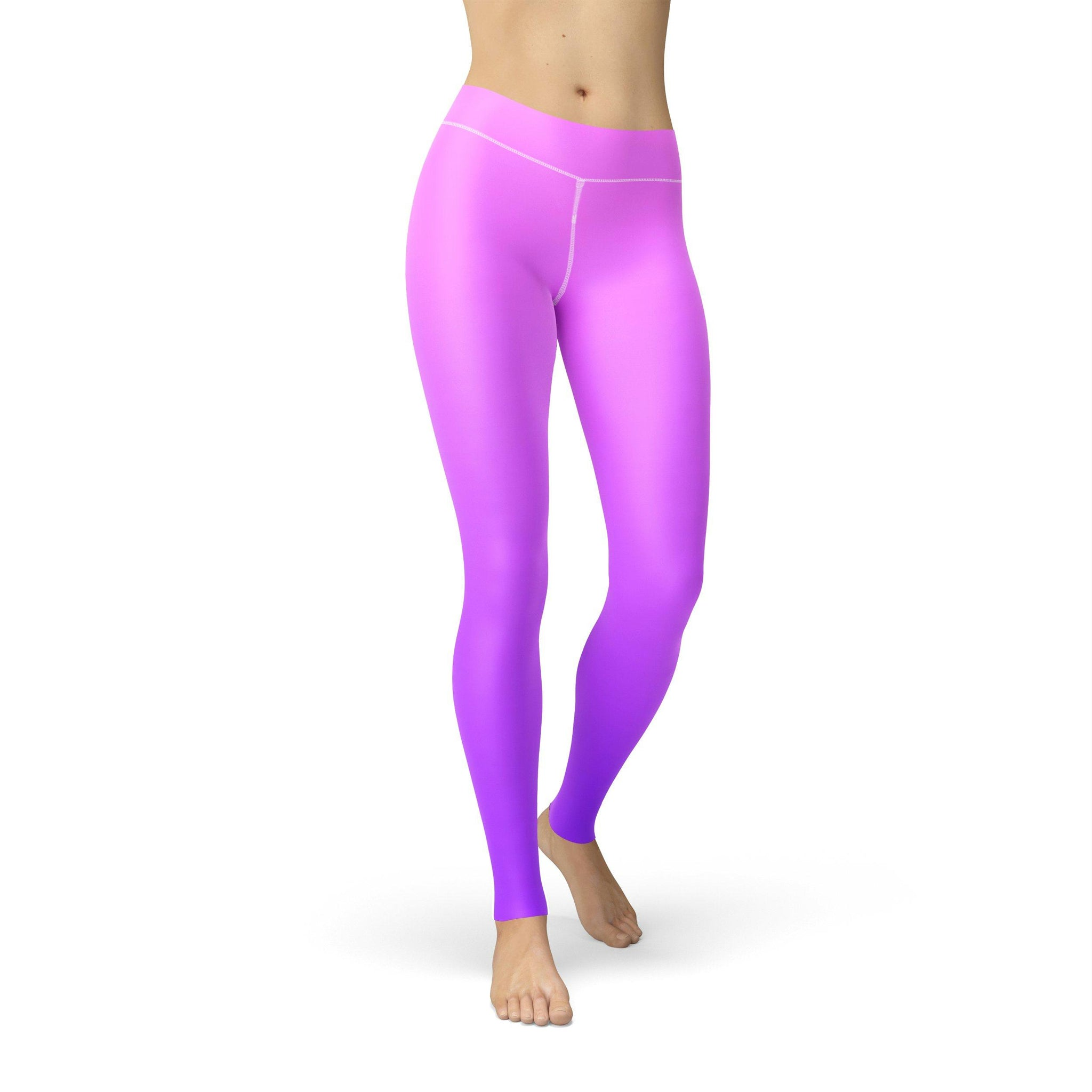 Gentle High-Waist Orchid Fusion Legging