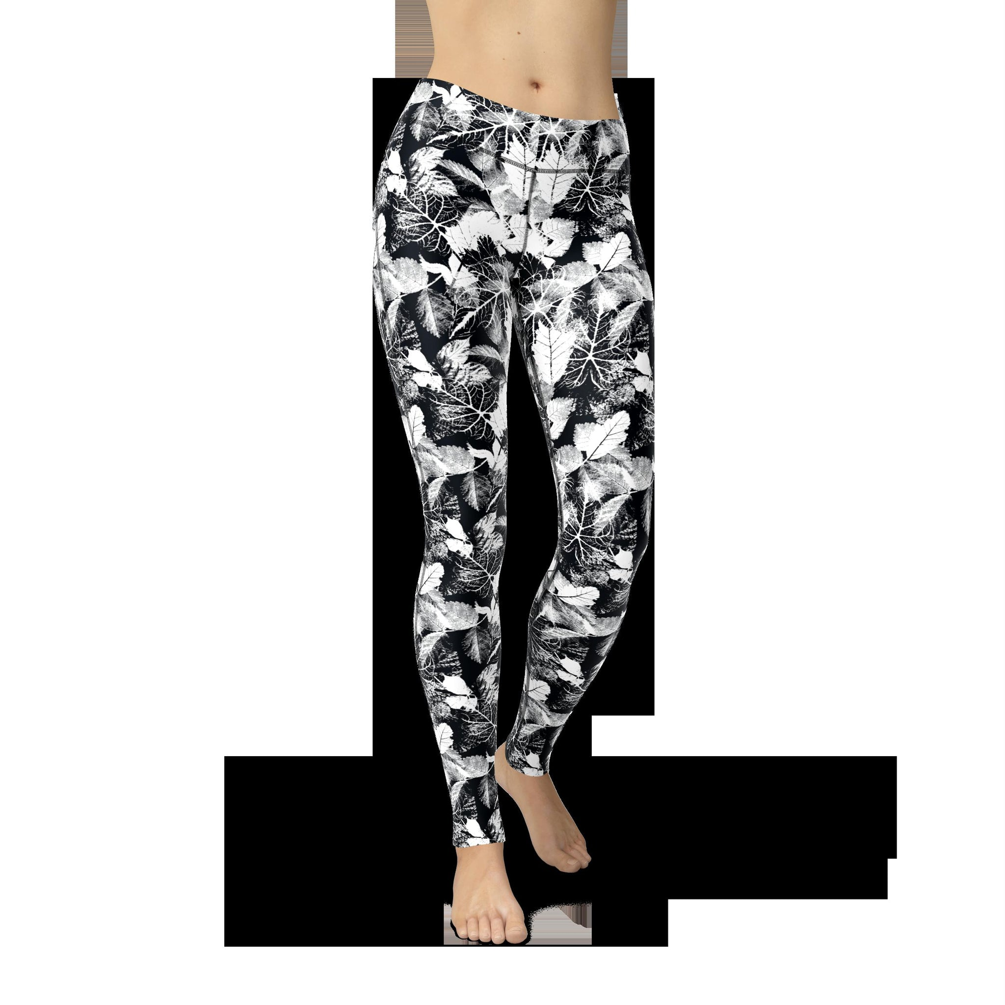 High-Waist Antique Forest Yoga Pants