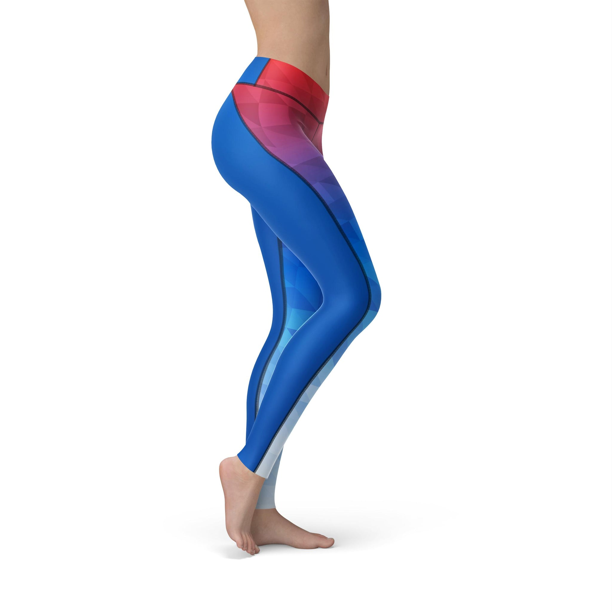 High-Waist Prism Fusion Astro Yoga Pants