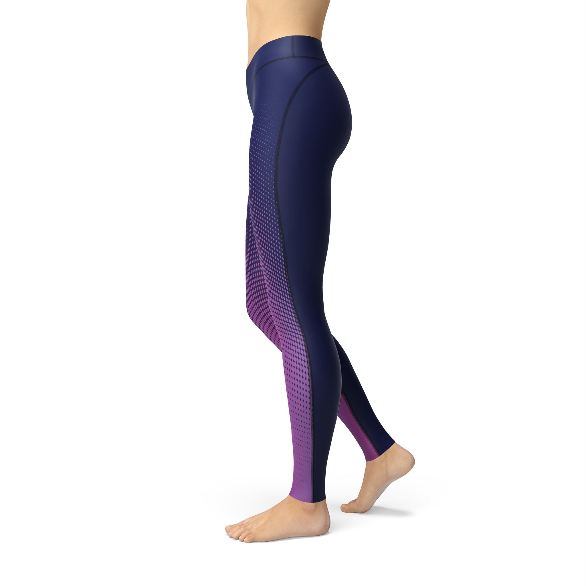 High-Waist Aura Fusion Yoga Pants