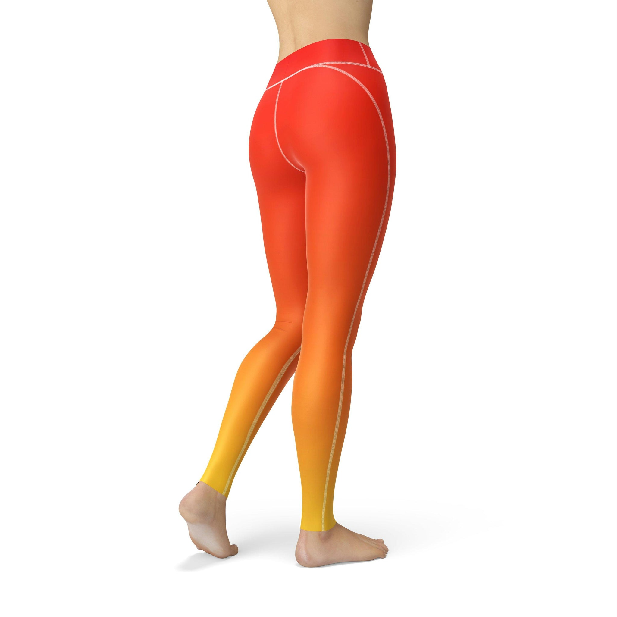High-Waist Sahara Fusion Yoga Pants