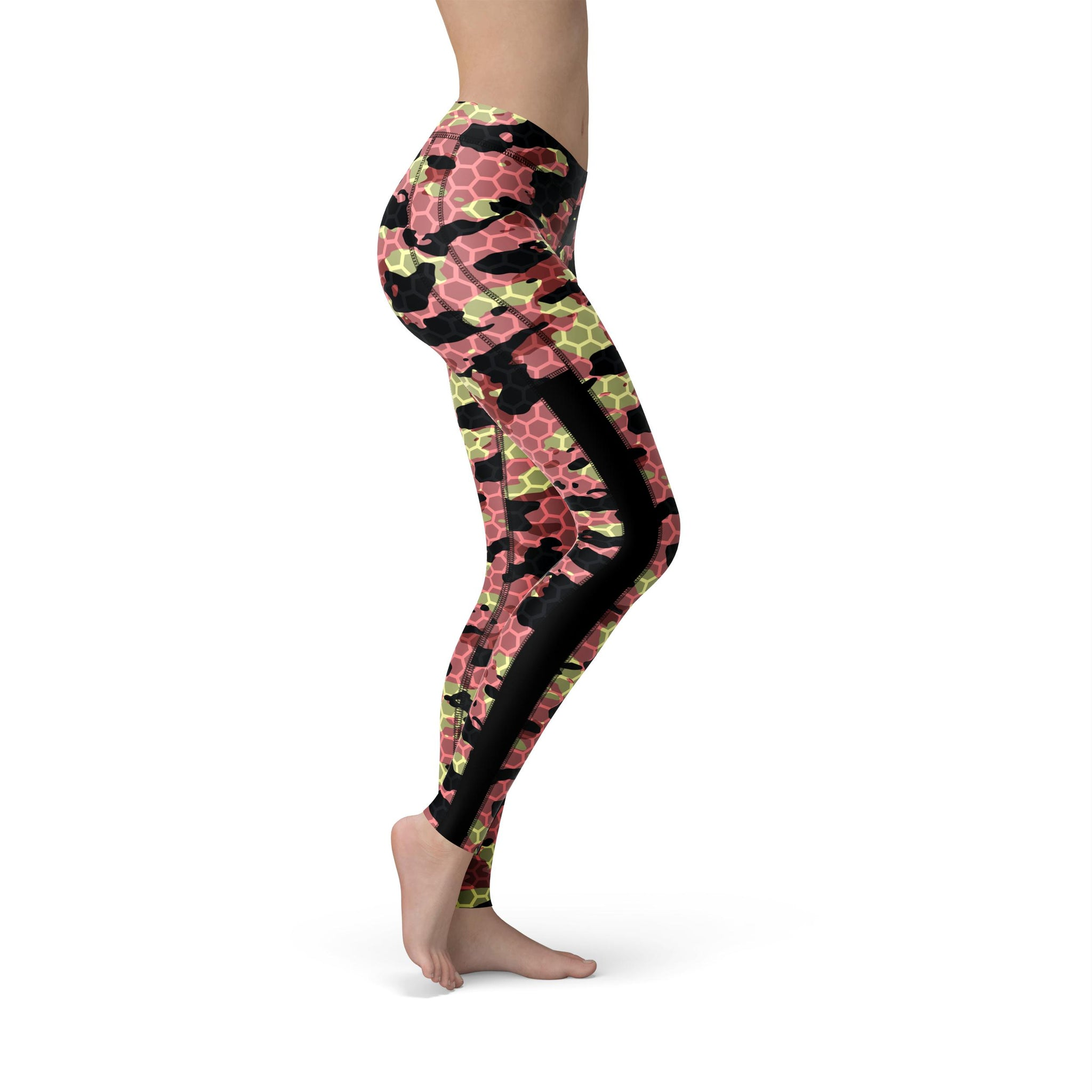Power Mesh Watermelon Rush Camouflage Legging