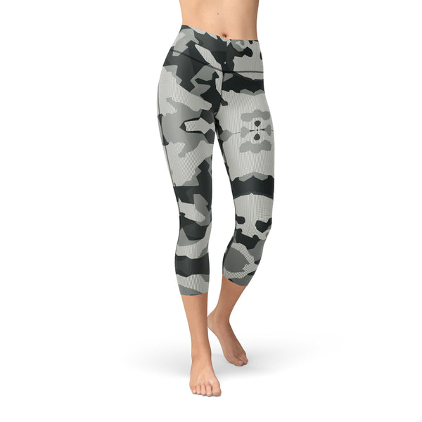 Capri Shadow Camouflage Legging