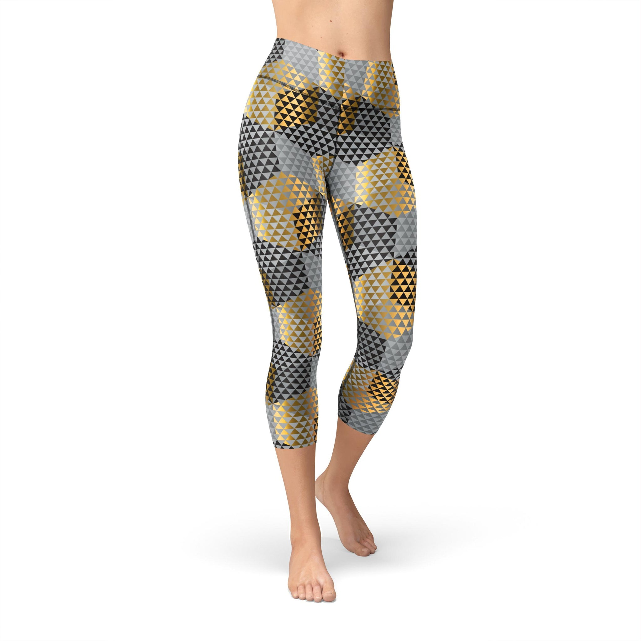 Capri Gold Rush Legging
