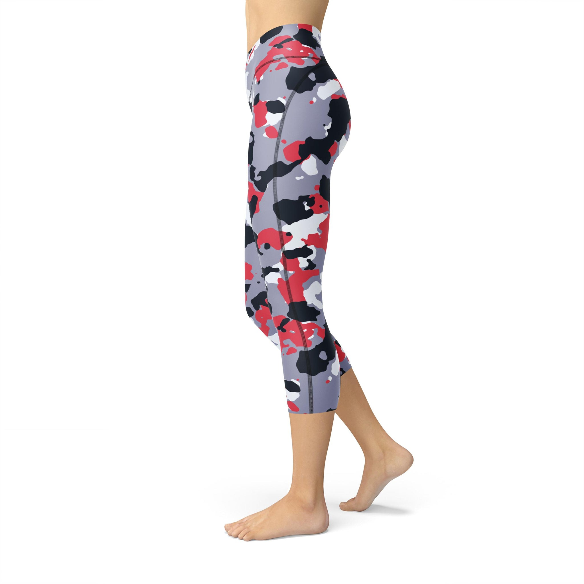 Capri Pastel Apple Camouflage Legging