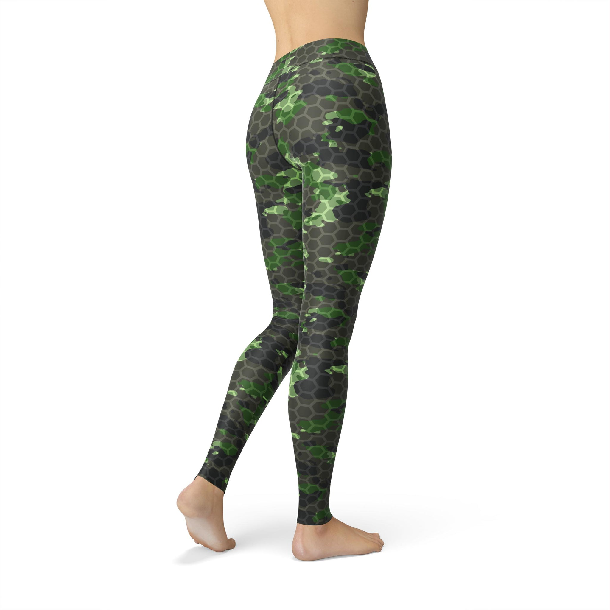 High-Waist Zen Infantry Rush Camouflage Legging