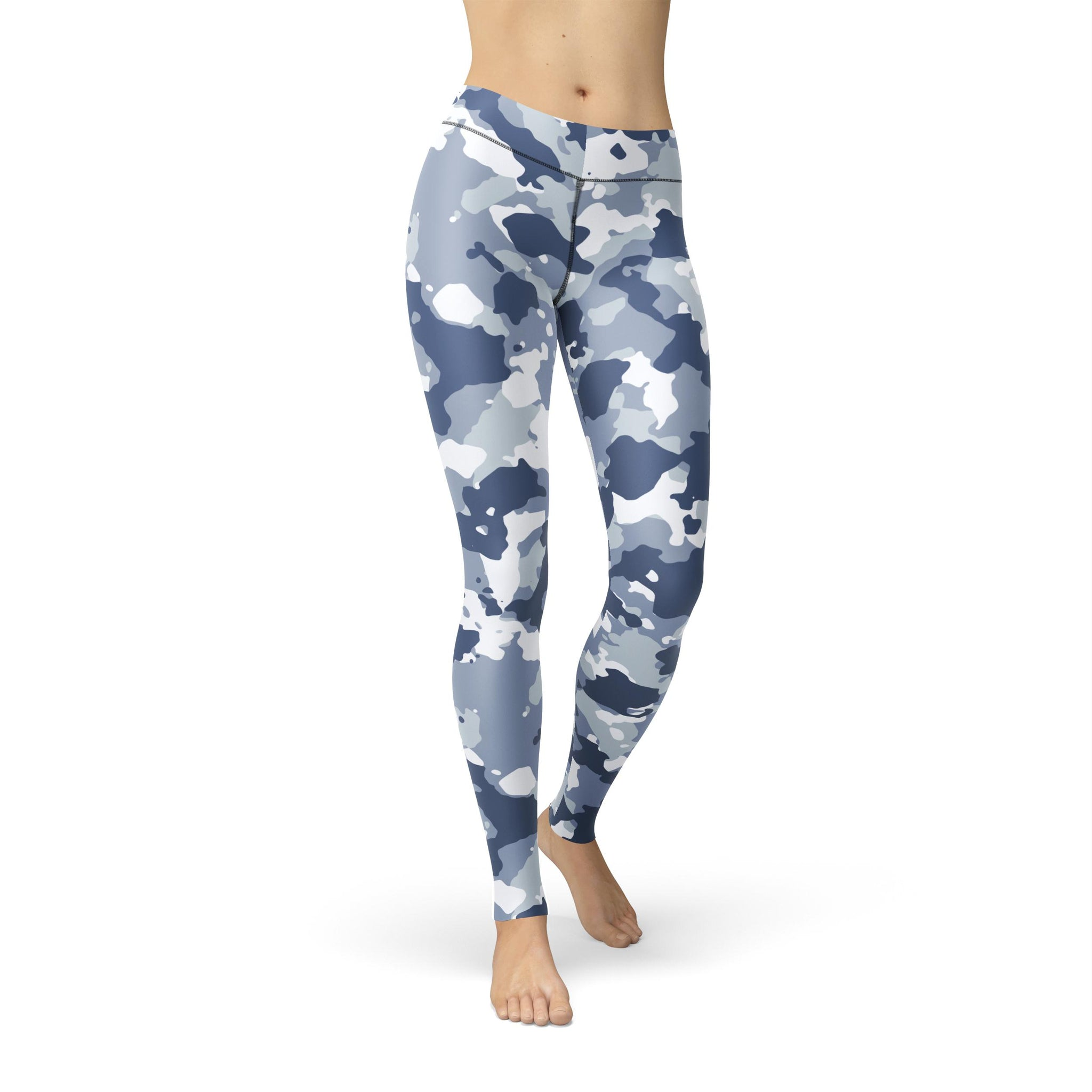 High-Waist Zen Dark Sky Camouflage Legging