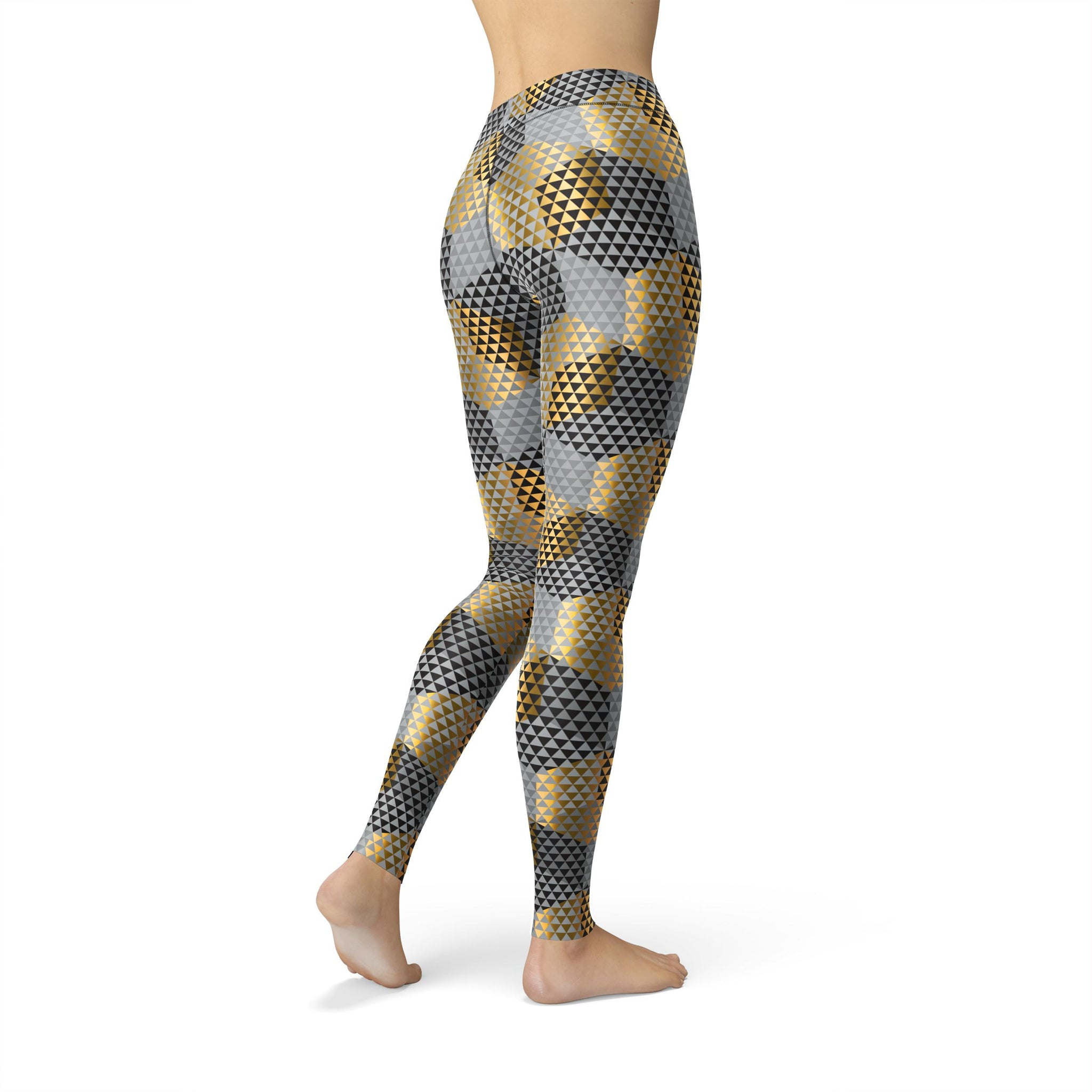 High-Waist Zen Gold Rush Legging