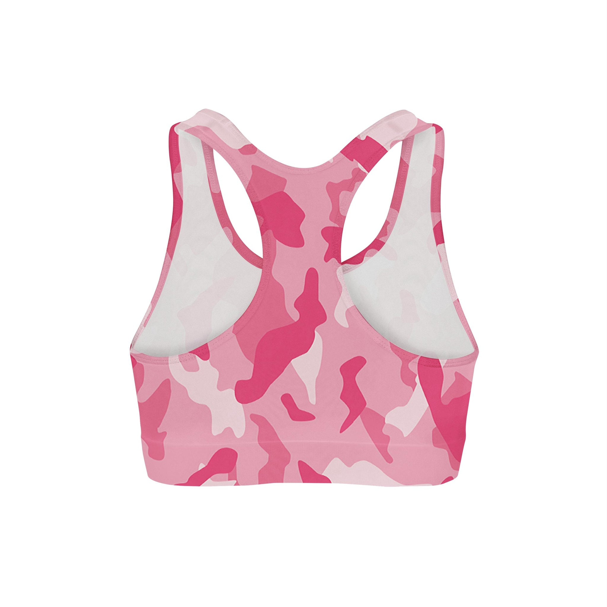 Bubblegum Camouflage Sports Bra