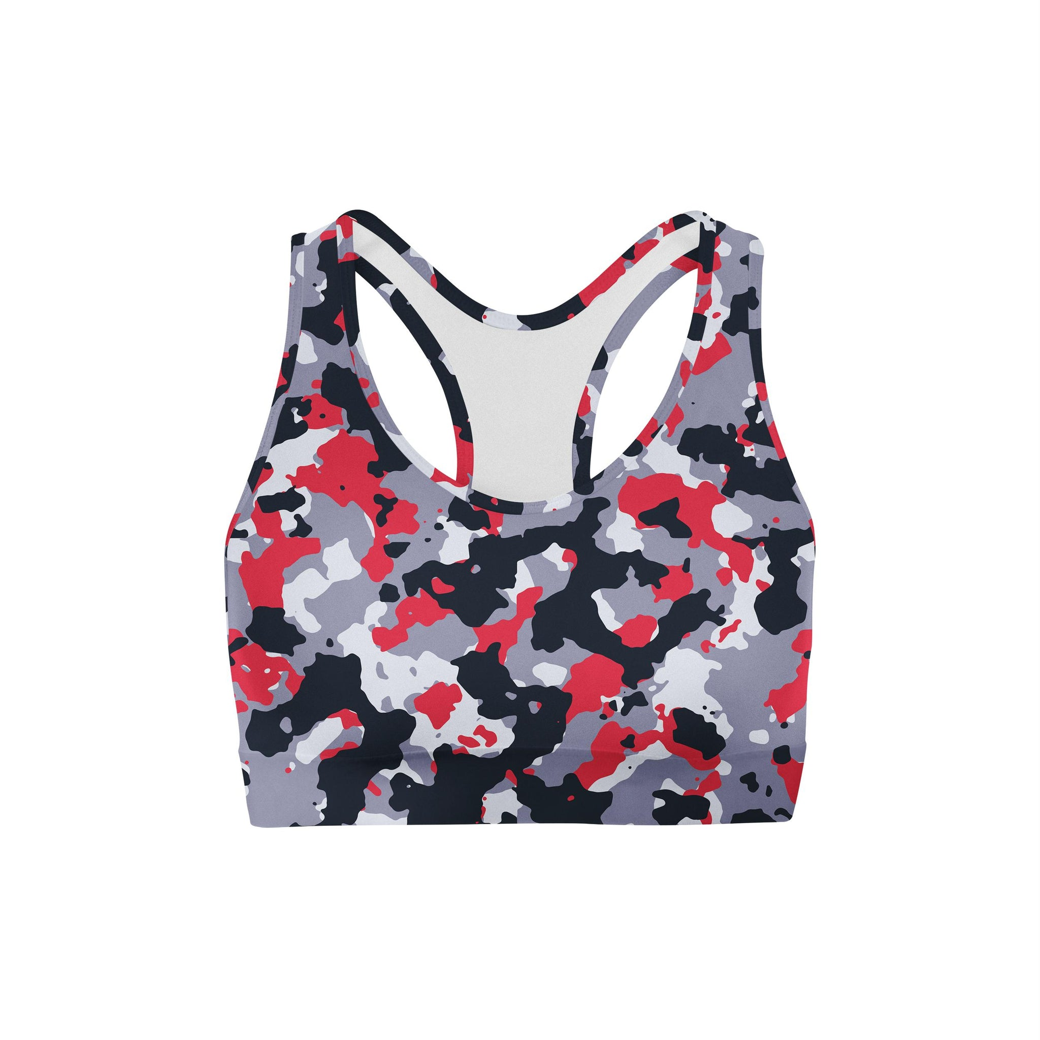 Pastel Apple Camouflage Mirror Sports Bra
