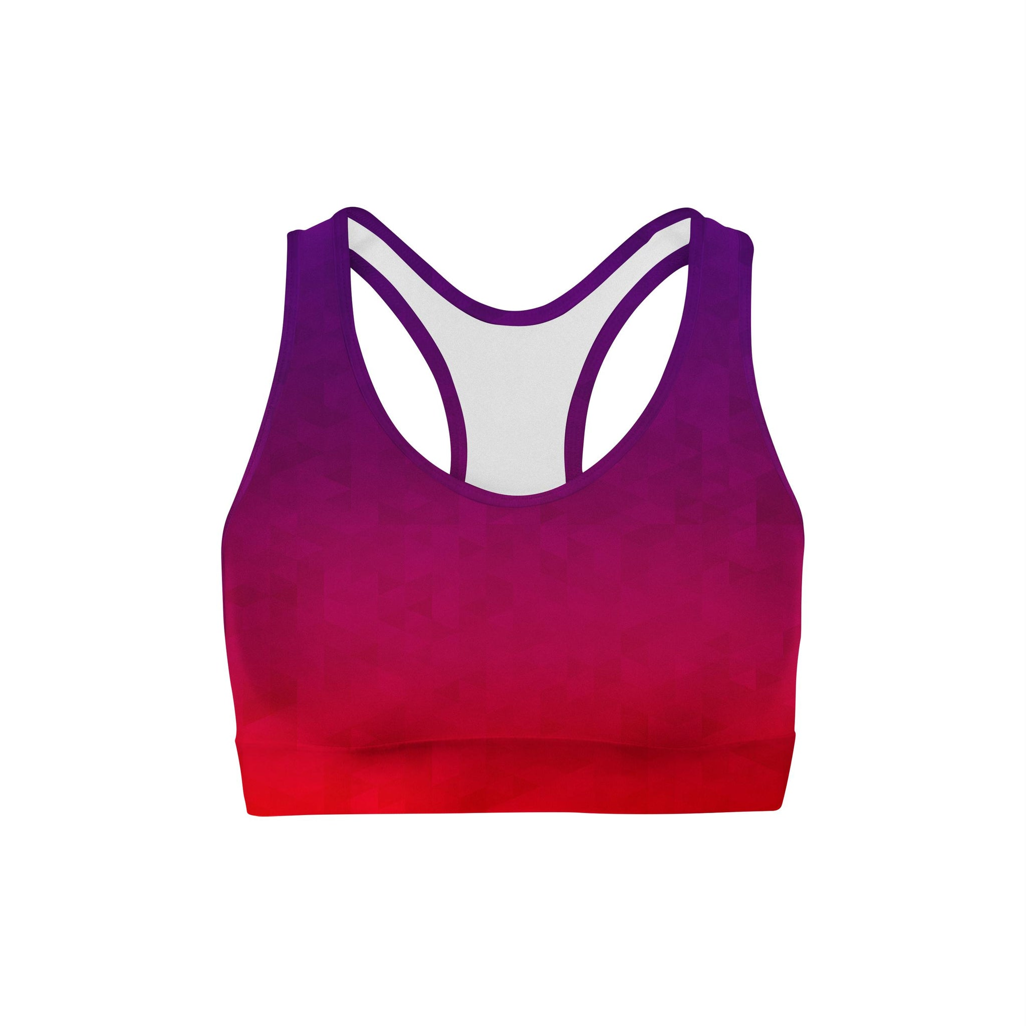 Prism Fusion Purple Sports Bra
