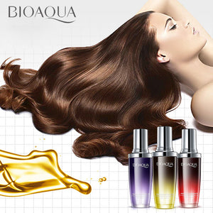 2017 New Brand Soft Sleeping Hair Care Oil High Quality 80ml Moisturizer Charming Perfume Smooth Protect Hair Essential Oil